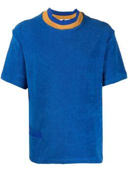Anglozine футболка с короткими рукавами и карманом AZ2019694
