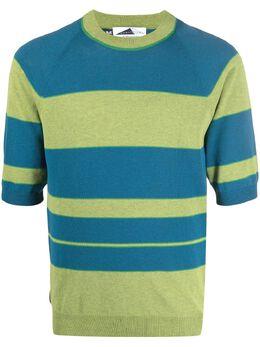 Anglozine полосатая футболка с короткими рукавами AZ2014532