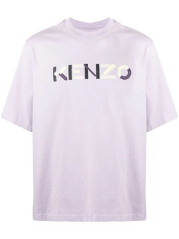 Kenzo футболка с логотипом FB55TS0554SB