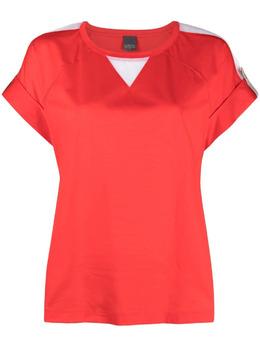 Lorena Antoniazzi футболка с контрастным принтом E2109TS0013432