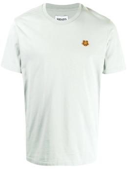 Kenzo футболка с вышитым логотипом FB55TS0034SA