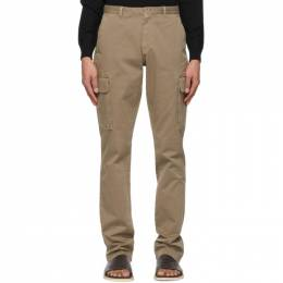 Isaia Brown Slim Cargo Pants PNTS99 XP871