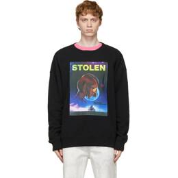 Stolen Girlfriends Club Black In Dreams Sweatshirt C1-21C004WB-A