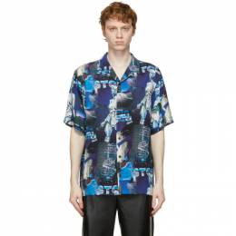 Stolen Girlfriends Club Multicolor Android Dreams Short Sleeve Shirt C1-21606