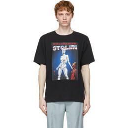 Stolen Girlfriends Club SSENSE Exclusive Black Robo-Love T-Shirt C1-21T001AC-F