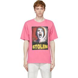 Stolen Girlfriends Club Pink Skream T-Shirt C1-21T001P-E