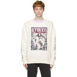 Stolen Girlfriends Club White Blade Runner Sweatshirt C1-21C004W-B