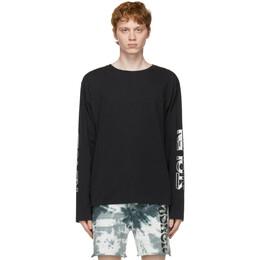 Stolen Girlfriends Club Black Dust Wars Long Sleeve T-Shirt C1-21LS001AC-D