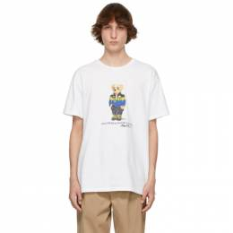Polo Ralph Lauren White Polo Bear T-Shirt 710829161002