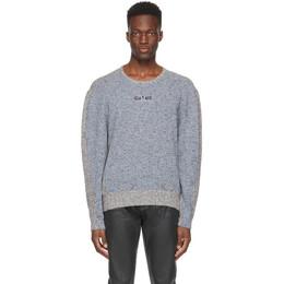 Eytys Blue and Grey Vito Sweater VIMB