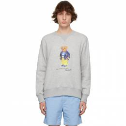 Polo Ralph Lauren Grey Polo Bear Sweatshirt 710835784002
