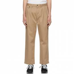 Polo Ralph Lauren Tan Twill Heritage Trousers 710835116002