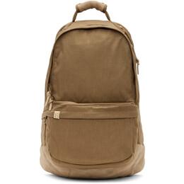 Visvim Beige Cordura Suede 22L Backpack 0121103003046