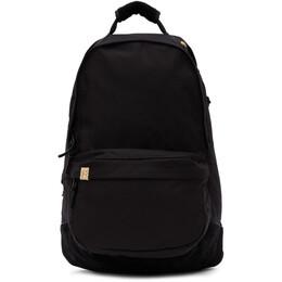 Visvim Black Cordura Suede 22L Backpack 0121103003046