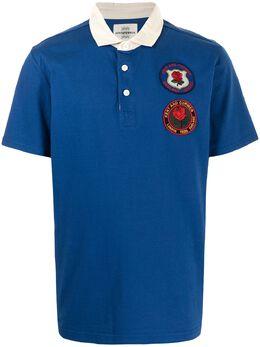 Kent & Curwen рубашка поло с короткими рукавами и нашивкой K4100422I035