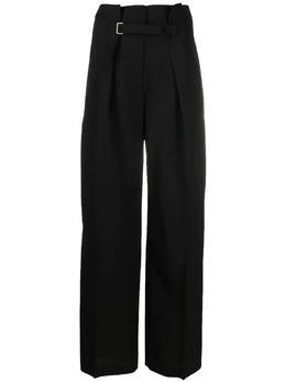 Jil Sander широкие брюки с поясом JSWS305205WS390300
