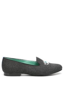 Blue Bird Shoes слиперы с вышивкой W21015715