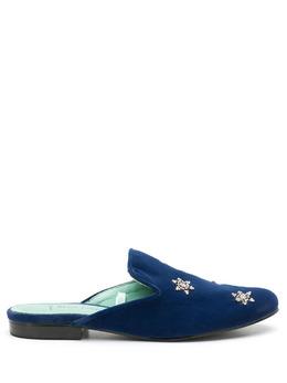 Blue Bird Shoes декорированные мюли W21160702