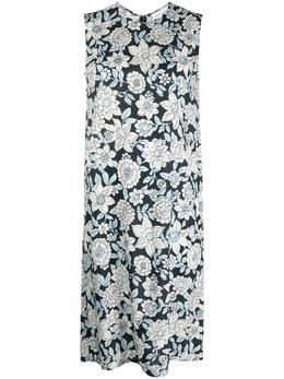 Christian Wijnants платье без рукавов с цветочным принтом DUKA5315