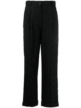 Dolce&Gabbana Pre-Owned строгие брюки 1990-х годов из цветочного кружева DOG350BB