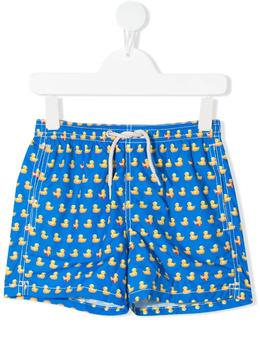 Mc2 Saint Barth Kids плавки-шорты с принтом JEA0004