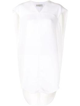 Balenciaga Pre-Owned короткое платье-кейп U1552Bcgdrs