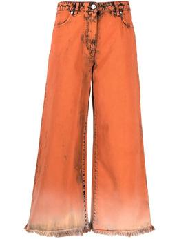 MSGM широкие джинсы из вареного денима 3042MDP147LT217484