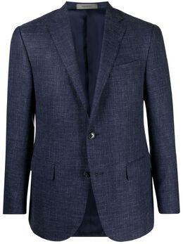 Corneliani однобортный пиджак с заостренными лацканами 8762221116229