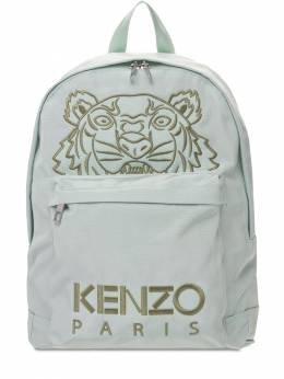 Tiger Embroidered Nylon Backpack Kenzo 73IYCQ010-NjE1