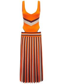 Трикотажное Платье Из Шерсти Gabriela Hearst 73IXSC008-T09D0