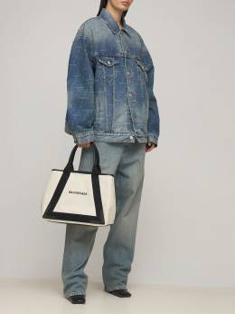 New Medium Cabas Canvas Tote Bag Balenciaga 73IWD2063-MTA4MQ2