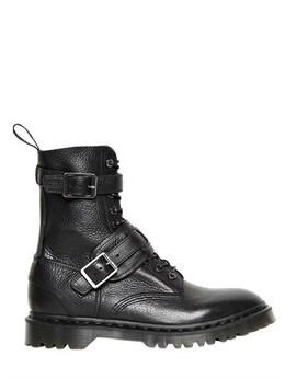 Кожаные Ботинки Dr. Martens 58ID2Q008-QkxBQ0s1