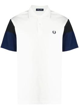 Fred Perry рубашка поло с контрастными рукавами FPM162237