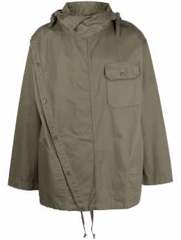 Engineered Garments куртка Sonor асимметричного кроя с капюшоном 20F1D022