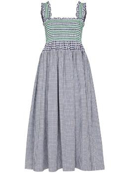 Molly Goddard платье в клетку гингем MGSS2124KYLIEDRESS