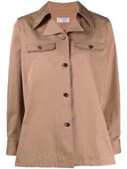 Alberto Biani куртка-рубашка с заостренным воротником MM879C00199