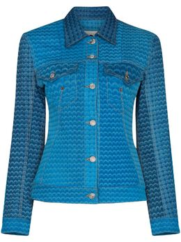 Marine Serre джинсовая куртка Moonfish J036SS21WUDENCO0004