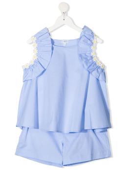 Piccola Ludo комплект из футболки и шортов BF6WB025B016TES0489