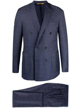 Canali костюм-двойка с двубортным пиджаком L2547853RAA02524301