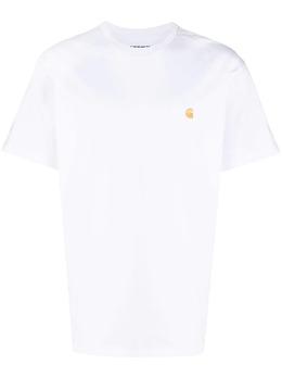 Carhartt Wip футболка с вышитым логотипом I026391030290