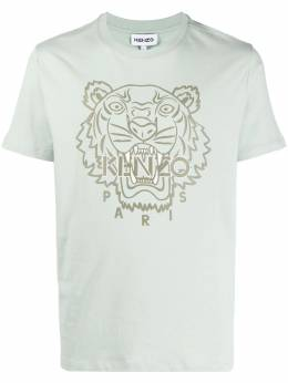 Kenzo футболка с вышивкой Tiger FB55TS0204SF