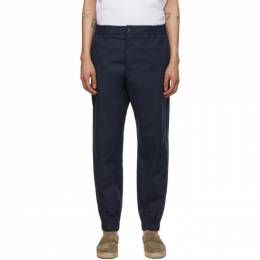 Etro Navy Jogging Trousers 211U1W1071154
