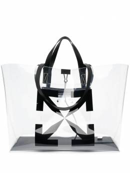 Off-White сумка-тоут с логотипом Big Arrow OMNA162S21PLA0010010