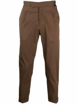 Low Brand укороченные брюки прямого кроя L1PSS215689