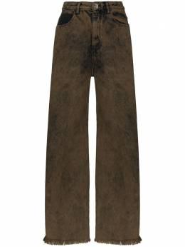 Marques'Almeida джинсы бойфренды из вареного денима SS21TR0014DND