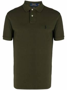 Polo Ralph Lauren рубашка поло с вышивкой 710536856