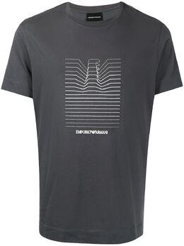 Emporio Armani футболка с логотипом 3K1TL81JULZ