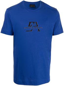 Emporio Armani футболка с логотипом 3K1TL71JULZ
