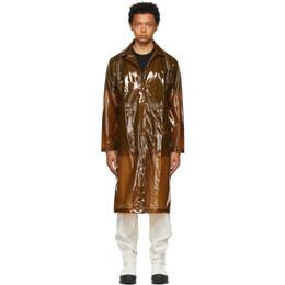Rains Brown Transparent Overcoat 1839