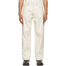 Sunnei Off-White Classic Side Band Jeans SN1SMT11AP - TE238.00
